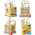 Mother's Choice wood baby walker for learn figure and word as toy Free shipping