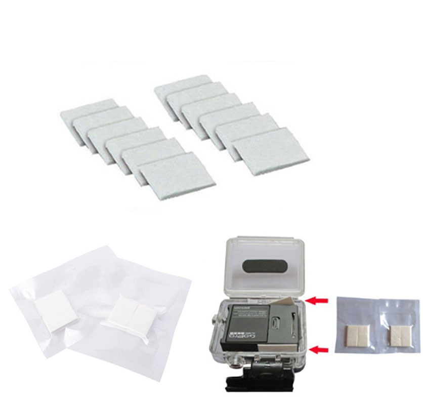 Image 3 - Kaliou Go Pro Accessories 12pcs/Lot Anti Fog Inserts Anti Fog Recycle Drying Inserts for Go pro 7 6 5 4 3+ 3 2 1 SJ4000 Sj8 pro-in Sports Camcorder Cases from Consumer Electronics