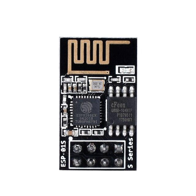 Esp8266 ESP-01S esp01s série módulo sem fio wifi sensor (ESP-01 atualizado) módulo wi fi diy para skr pro v1.1 placa de impressora 3d