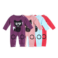 2017 Children Baby Clothes girl Boys Printing Romper Jumpsuit Outfit Newborn Kids costume boy Clothing