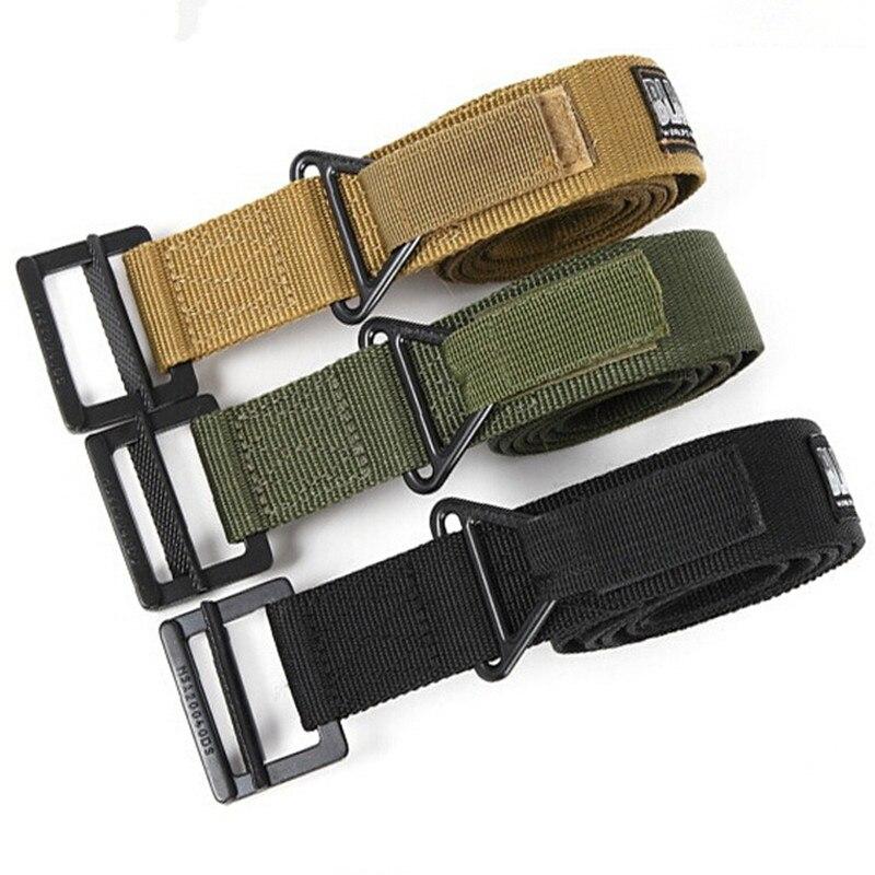 BLACKHAWK Outdoors Nylon Tactical Belt Men's CQB Military Combat Duty Rescue Rigger Belt