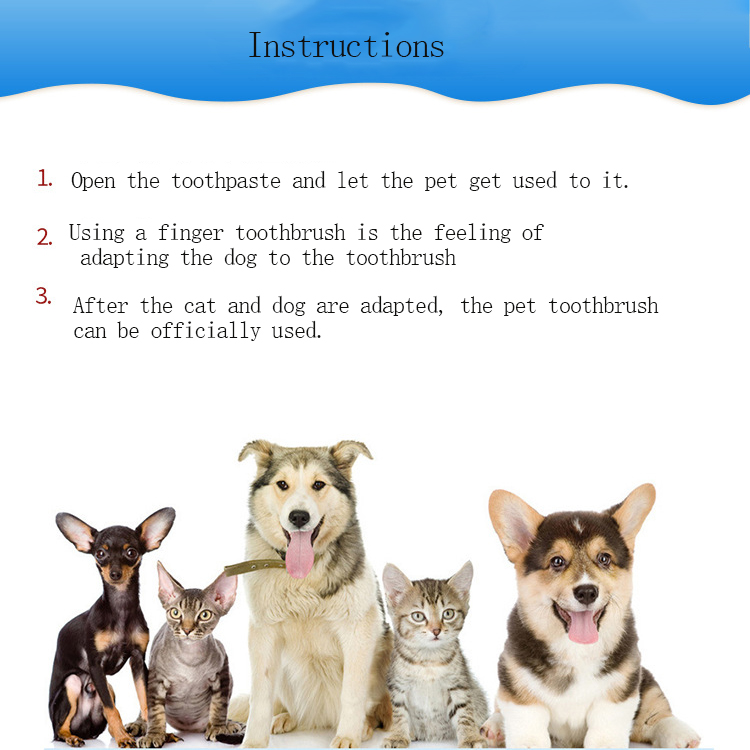 Three-sided Pet Toothbrush 16
