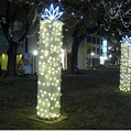 10 m 100 pitches LED Full color Ball Christmas lights  waterproof outdoor string lights wedding decoration