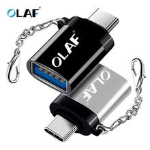 OLAF OTG Type-C/USB OTG Adapter USB Type C For Xiaomi Huawei Samsung S9 Typec Adaptador USB Tipo C Type-c To USB 3.0 OTG Adapter(China)