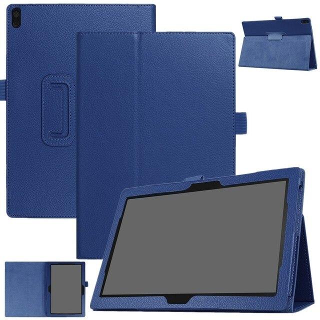 "Кожаный чехол для lenovo TAB 4 10 X304L/N/F защитный смарт-флип-Стенд кожаный планшет для lenovo Tab4 10 plus чехол 10,1"""