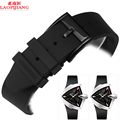 Laopijiang Silicone watchband alternative hamilton silicone watchband adventure series H24655331 Rubber Watch Band