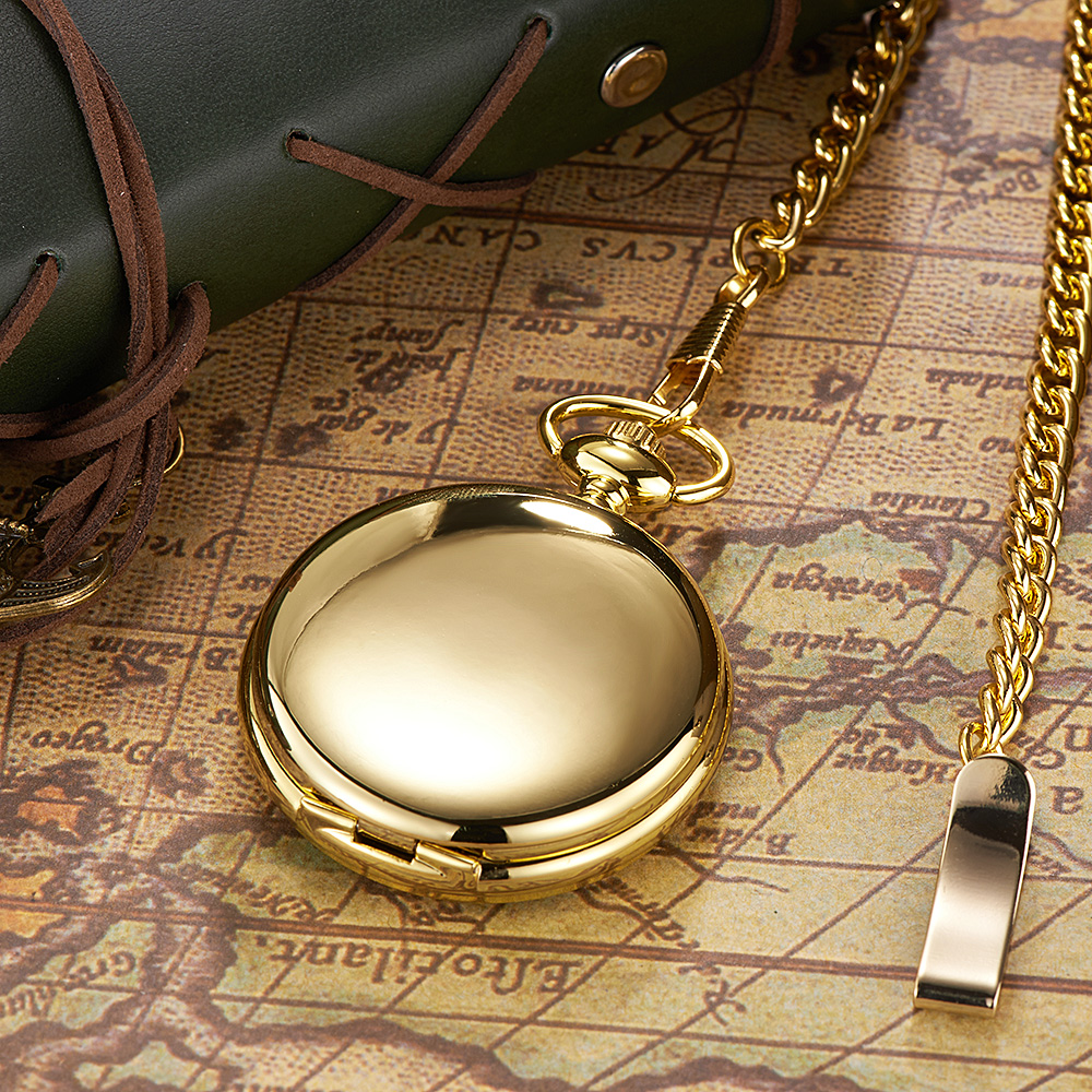 Mens pocket watches with chain images mens gold pocket watches gifts - Oyw Brand Hand Winding Mechanical Luxury Gold Men Pocket Watch Vintage Skeleton Dial Necklace Pendant Male Chain Watches Gifts