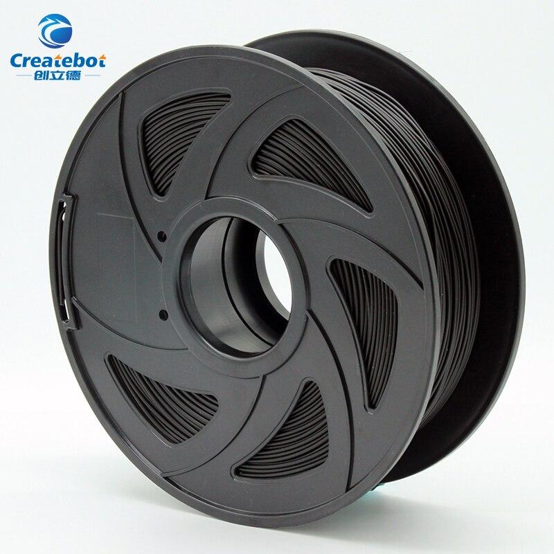 PLA, ABS Flexible PETG 3D filamento de impresora 1,75mm 1 kg/0,8 kg de plástico Material de filamento para Createbot/ makerBot/RepRap de alta calidad