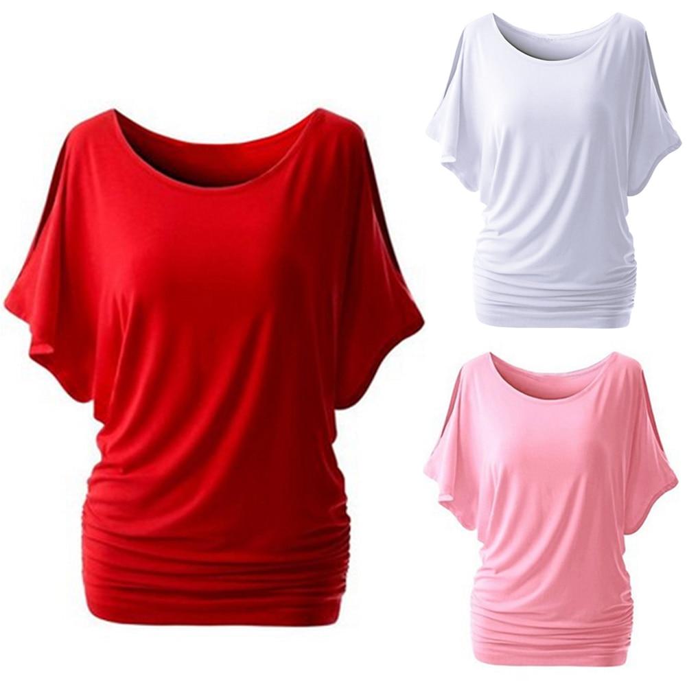 Для Женщин Половина рукава Круглый Средства ухода за кожей Шеи Сплошной Цвет Slim Fit летняя футболка Для женщин модная повседневная Стиль Cut Out...