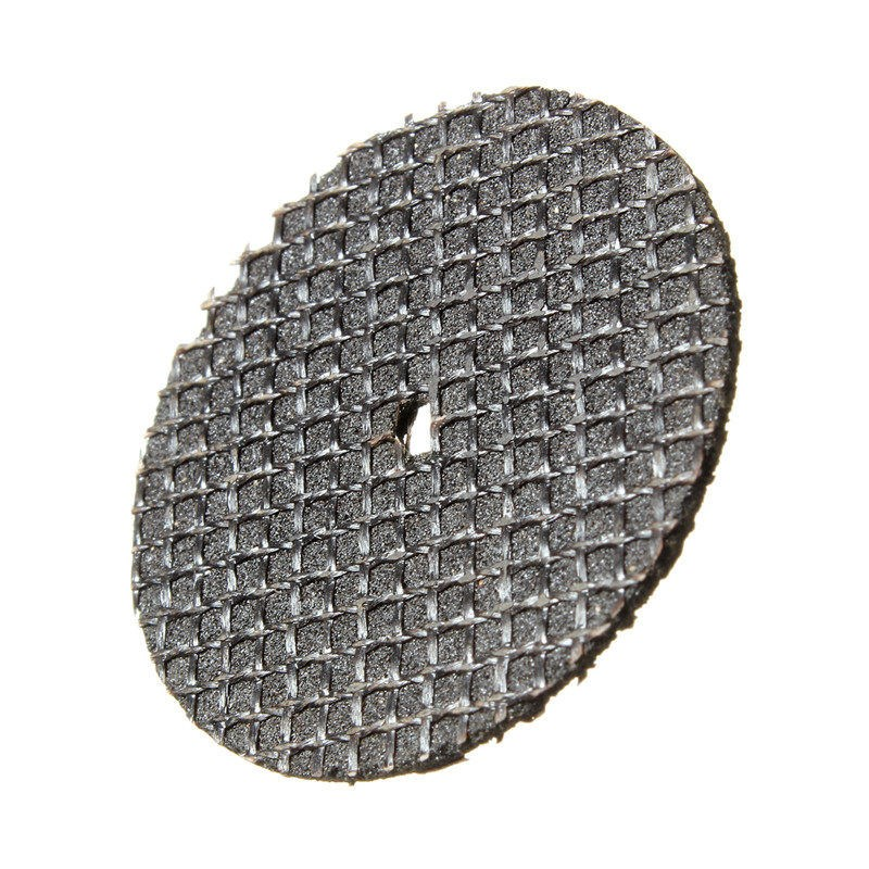25pcs a set Resin Cutting Wheel Abrasive Disc Set Kit Accessory Mandrel For Dremel Rotary Tool