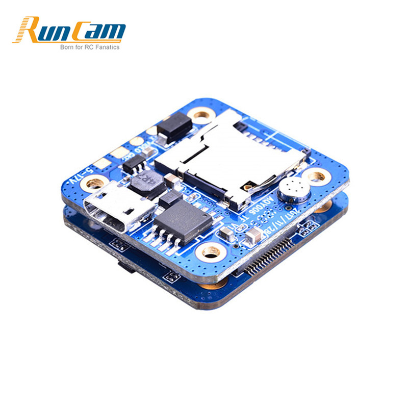 RunCam Split Mini FPV Camera PCB Board For RC Models Multicopter FPV Racing Drone Spare Part DIY Accessories ldarc 200gt part xt1806 1806 2500kv 3 4s brushless motor black silver for rc multicopter drone fpv racing spare part accessories