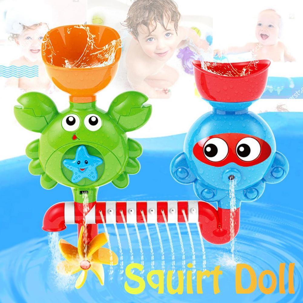 Bébé enfant bain salle de bains pulvérisation tournant douche eau Paddle jouet dessin animé Animal drôle jouets pour enfants garçons et filles