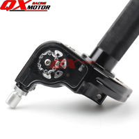 CNC Adjusterable Throttle Grip Quick Twister CNC Anodized Black for CHINESE 50 250cc Dirt Pit Bike Motorcycle Motocross Modified