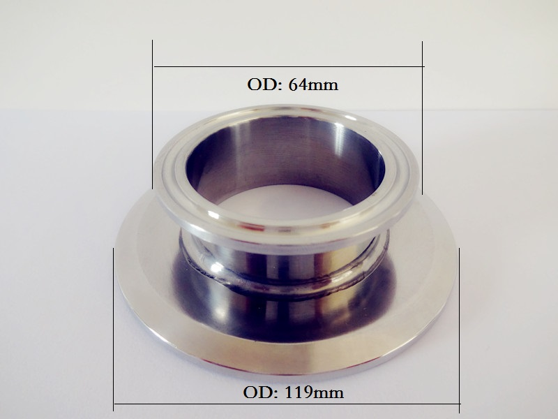 Free Shipping  Short Type Tri Clamp Reducer 4