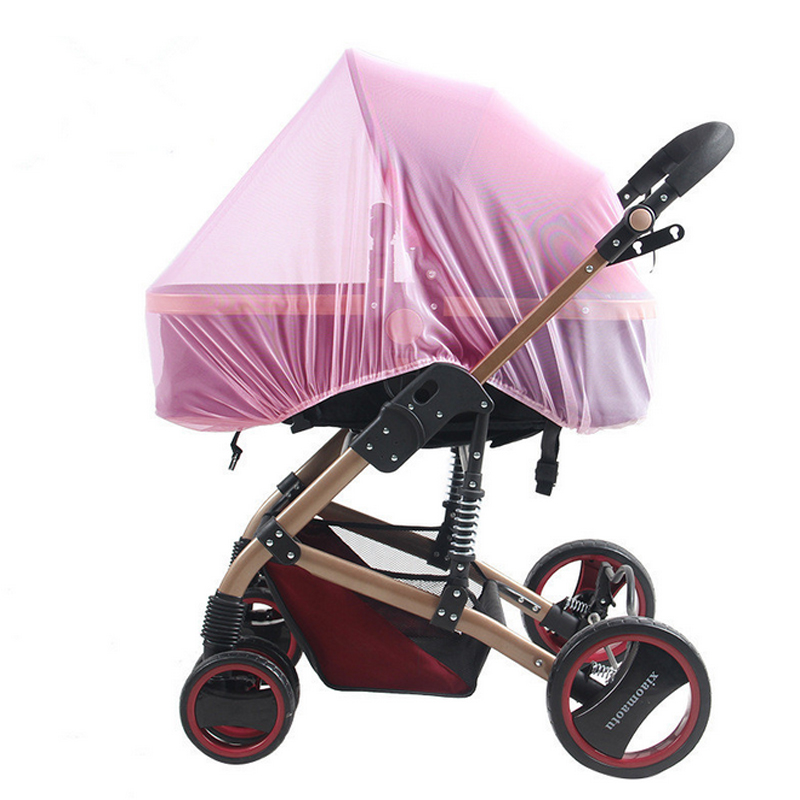 Baby Stroller Pushchair Cart Mosquito Insect Net Safe Mesh Buggy Crib Netting Baby Car Mosquito Net Outdoor Protect