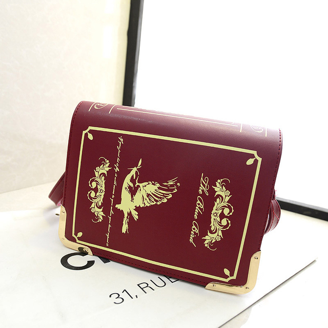2014 women's handbag personalized fairy tale book small bags fashionable casual one shoulder cross-body women's bags