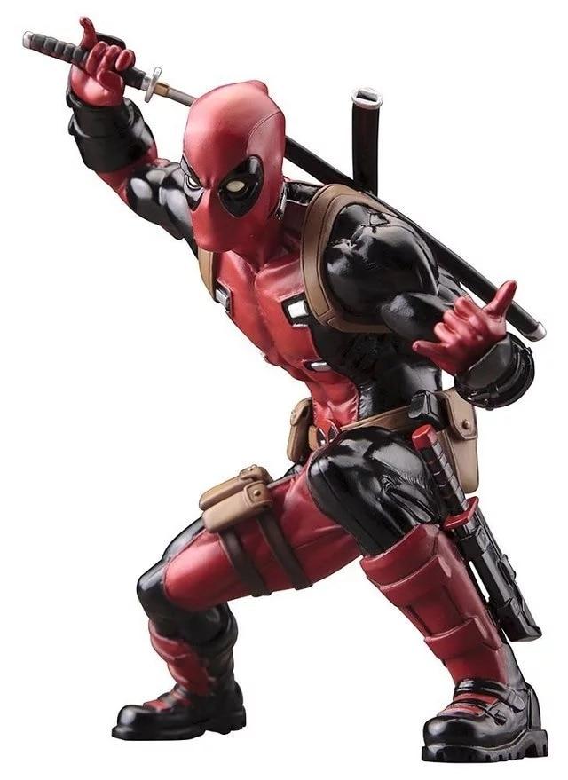 Super Hero X-Men Deadpool PVC Action Figure Collectible Model Toy 20cm KT2398