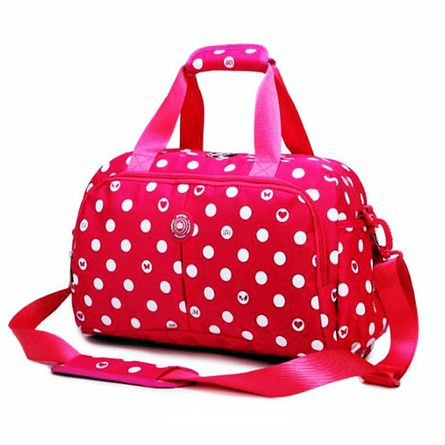 c97f35b57e27 2018 New style women men sport bag print wave gym shoulder bag nylon  waterproof pop handbag tarvel beach travel trainning bags
