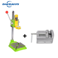 Drill stand 0 90 degrees drill chuck 38 43mm drill holder press +2.5' Bench vise for Woodworking Power Tool Accessories