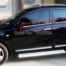 Нижняя часть под нижней линией Окна Накладка для Nissan 2011 2012 2013 Qashqai J10