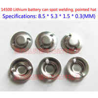 Factory Direct Sale 14500 Lithium-ion Batteries Anode Cap Welding Hat 14500 General Hat Lithium Battery Accessories Hardware