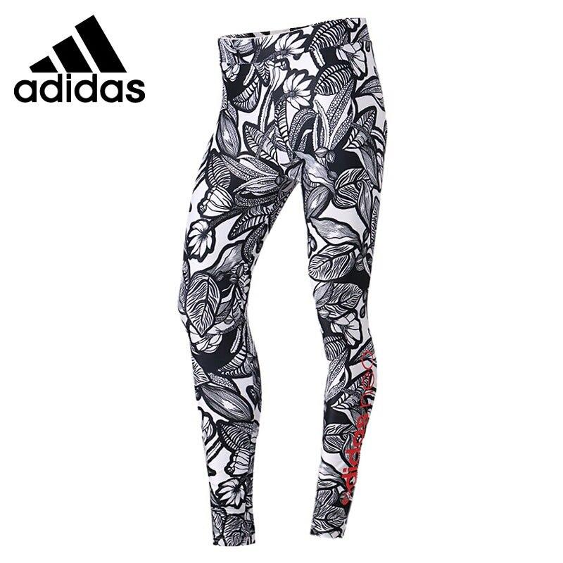 Original New Arrival 2018 Adidas NEO Label ILLUST LEGGIN Women's Tight Pants Sportswear original new arrival 2018 adidas neo label w trck pnt anm women s pants sportswear