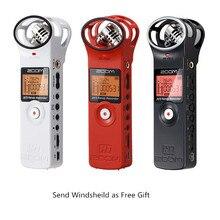 Ulanzi Zoom H1 Práctico Grabador Digital Portátil Ultra-Portátil cámara Digital de Vídeo Estéreo Micrófono con Parabrisas y 2G tarjeta