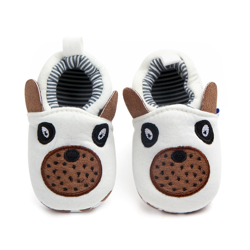 Newborn Baby Girl Boy Home Shoes Soft Sole Indoor Slippers Infant Crib Shoes  Fashion Cartoon First Walkers Hot Sale