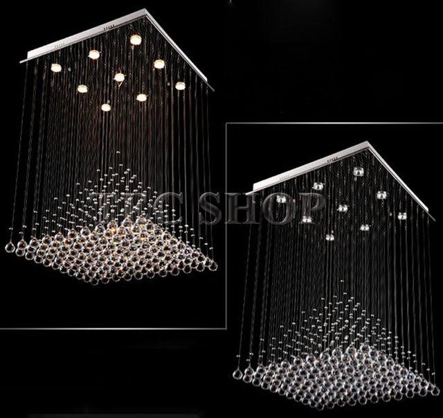 Online-Shop Beste Preis Länge 80cmxW80xH100 Moderne K9 Quadratische ...