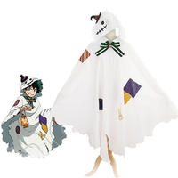 Boku no Hero Akademia Cosplay My Hero Academia Izuku Midoriya Deku Costume Cloak Cape Hooded For Women Men Halloween Carnival