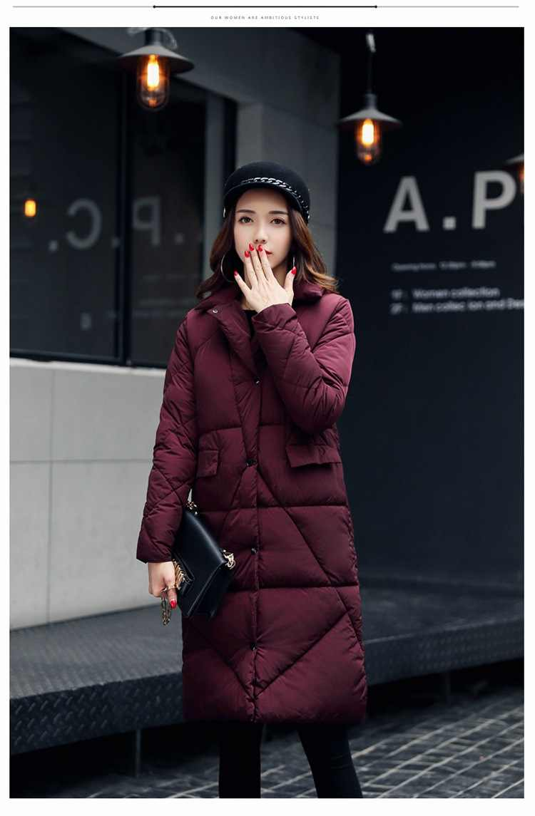 fa2783e09b7 ... New black gray brown women cotton down jackets women's winter coats  cotton down super warm waterproof ...