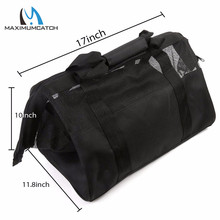 Maximumcatch 17.72*11.81*11.81 inch Fly Bag Mesh Fishing Wader Bag PVC mesh venting Fly Fishing Bag