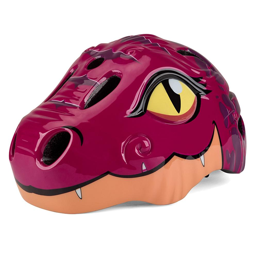 Bike Helmets Dinosaur-Skating Cycling Kids Children's PC Riding Ciclismo Cartoon High-Density