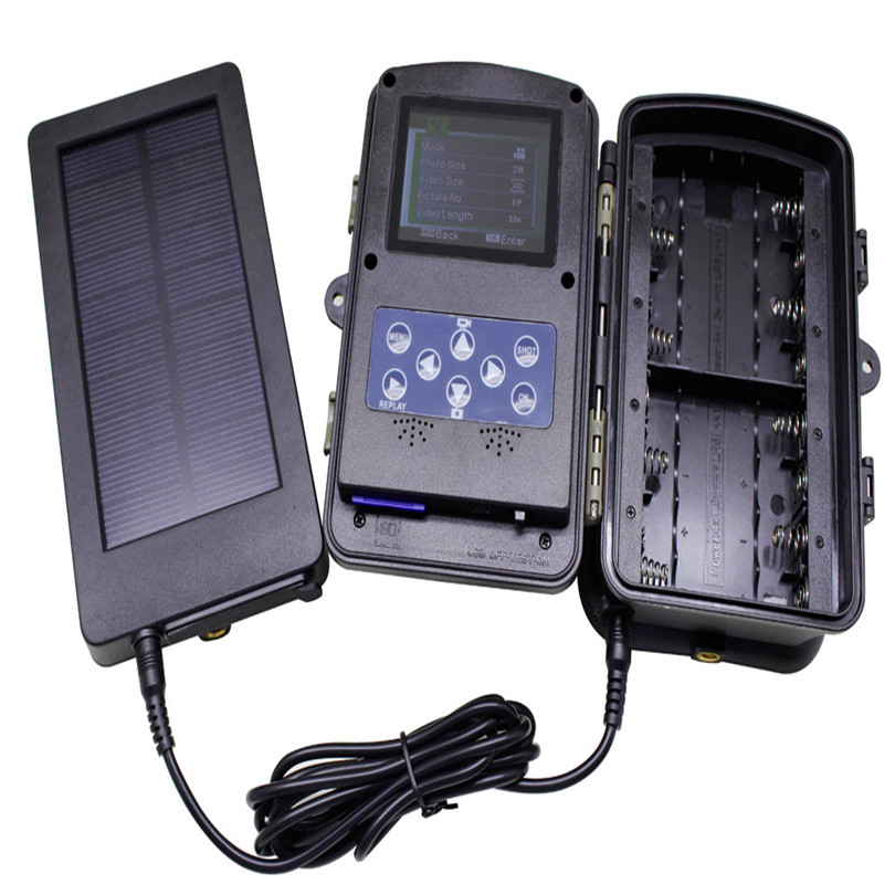 2018 new Lowest Price Solar Charger Battery Panel KitCompatible with all Trail Cameras Model Power Bank For Drop Shipping