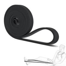 Alta calidad pull up bandas de goma bandas de potencia de bucle crossfit resistencia latex expander yoga bandas de asist 2080*4.5*21mm negro