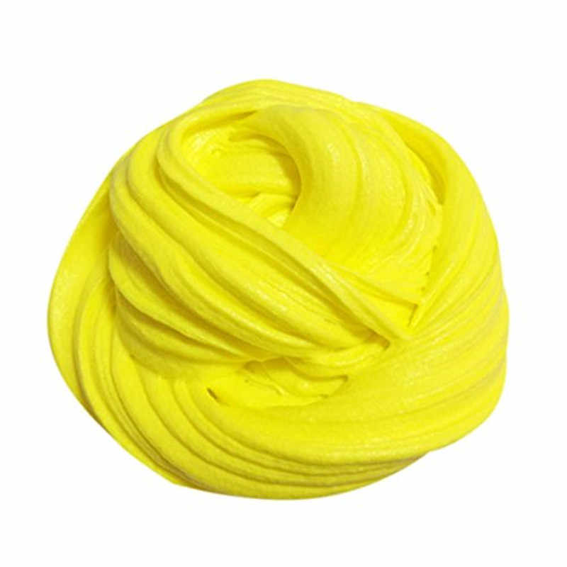 1 BOX Hot Sale DIY Cotton Slime Clay 3D Fluffy Foam Slime Scented Stress Relief No Borax Education Craft Mud Toy Antistress toy