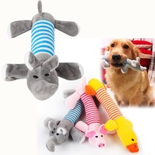 ANSINPARK Dog Pet Chew Toys Soft Dolls Bite Squeak For Accessories Fleece Durability Vocalization Zabawki g999