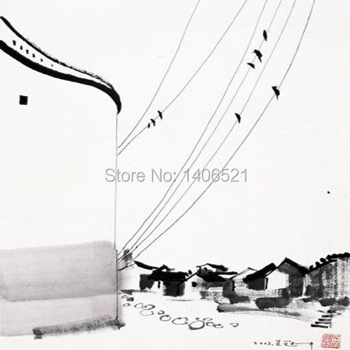 100% handgemachte ölgemälde Kopie von Chinesische Berühmte Künstler ...