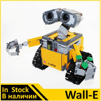 Building Blocks Model 16003 Compatible With IDEA WALL E 21303 Figure Educational Toys For Children Gift