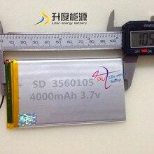 ultra thin 3.7V 4000mah li Tablet polymer battery for laptop