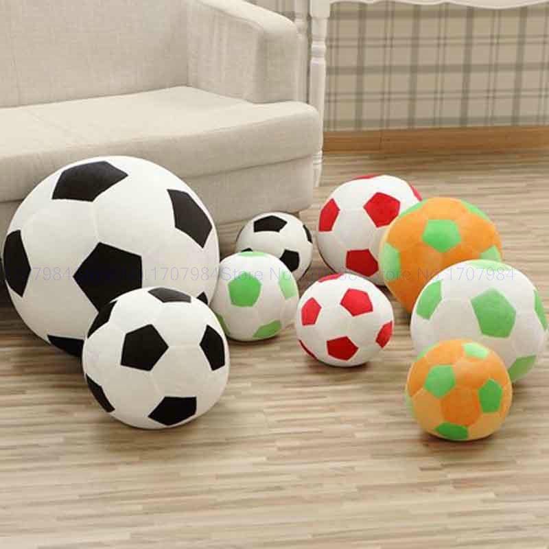 <font><b>20</b></font>-45cm Creative cartoon football pillow child cute plush toy kids ball doll girl dolls valentine's <font><b>day</b></font> stuffed lush baby toys image