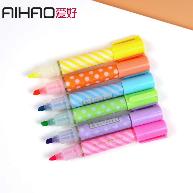 Detail Feedback Questions about 6 Colors/set Cute Kawaii Colouring