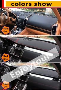 Image 2 - Per Mercedes Benz Classe CLA GLA GLA180 GLA200 CLA250 220 Cuoio Dashmat Copertura Cruscotto Pad Mat Dash Parasole tappeto 2013 2019