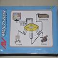 3 Устройств Видео 1 TV Set AVBox 3 RCA Вход 1 ТВ-выход Мульти Коробка Распределительная Коробка Для DVD TV Game Видикона