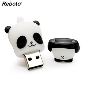 Top Selling PenDrive Panda USB Flash Drive 64GB Lovely Animal USB Memory Stick 4GB 8GB USB Mini Stick 16GB 32GB USB 2.0 Pen Drive — runrthlio