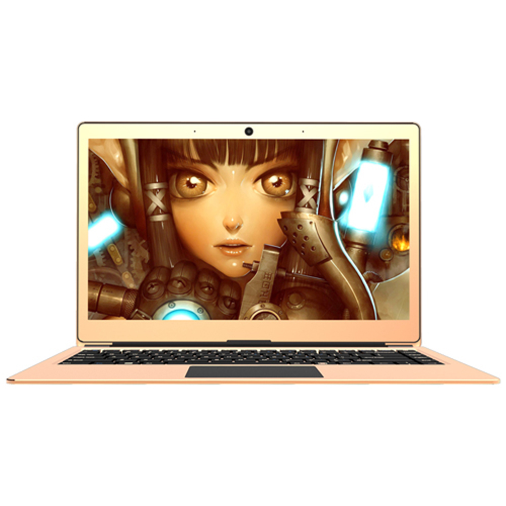 Free Shipping Laptop computer 13.3 Inch Intel CPU 1.1GHz IPS Screen Bluetooth WIFI Fingerprint Recognition Celeron N3450 Type-c