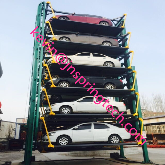 Vertical Car Parking System Easy Parking 12 Car Lift Vertical Rotary