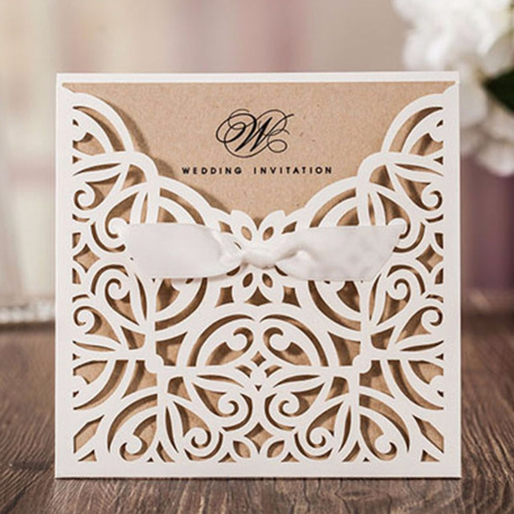70pcs/lot unique design wedding party decoration paper craft laser ...