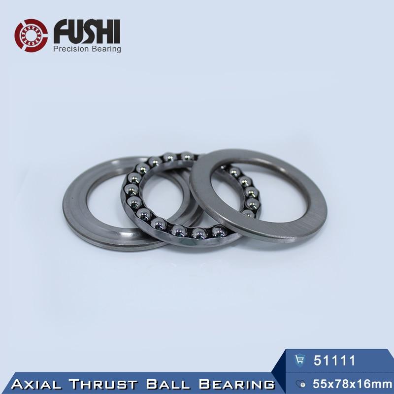 51111 Thrust Bearing 55x78x16 mm ABEC-1 ( 1 PC ) Axial 51111 Thrust Ball Bearings 8111 51114 thrust bearing 70x95x18 mm abec 1 1 pc axial 51114 thrust ball bearings 8114