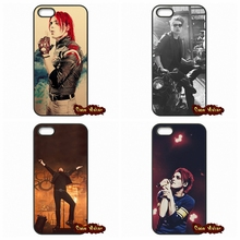 Gerard Way My Chemical Romance Case Cover For Apple iPod Touch 4 5 6 iPhone 4 4S 5 5C SE 6 6S Plus 4.7 5.5